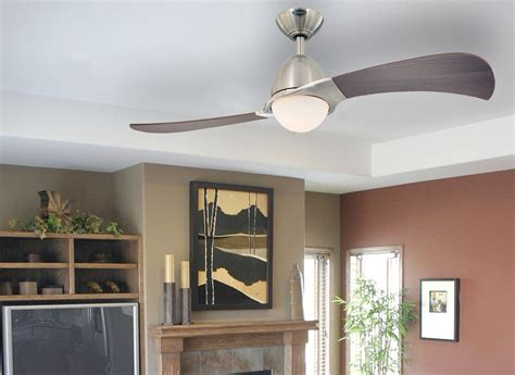 Best Ceiling Fans For Living Room by Westinghouse 7216100 Solana Two Light 48 Inch Two Blade