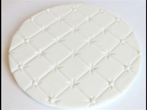 quilting fondant tutorial quilted cake board tutorial youtube