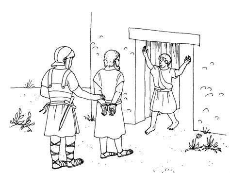 Paul Of Tarsus Coloring Pages Saul Of Tarsus Paul Of Apostle Paul Coloring Pages