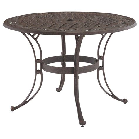 48 Quot Biscayne Outdoor Table 224966 Patio Furniture At 48 Patio Table