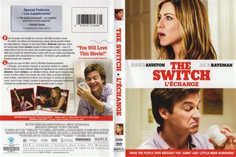 the switch dvd release date march 15 2011 jaquette dvd de the switch l 233 change canadienne cin 233 ma passion