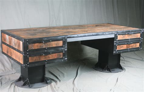vintage industrial desk l combine 9 industrial furniture vintage industrial