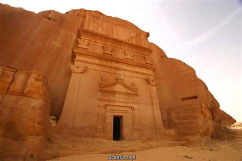 ruins  madain saleh saudi arabia xcitefunnet