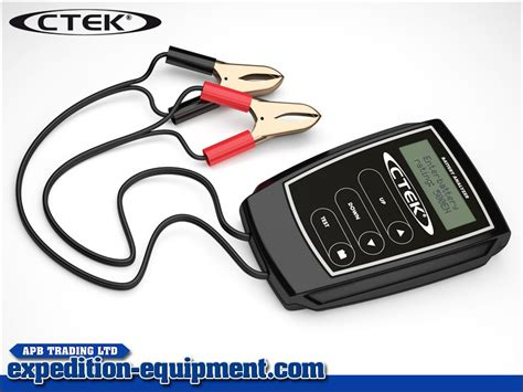 Ctek Analyzer ctek battery analyser