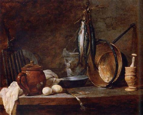 The Kitchen Jean Baptiste Simeon Chardin Lean Food With Cook Utensils Jean Baptiste Simeon Chardin