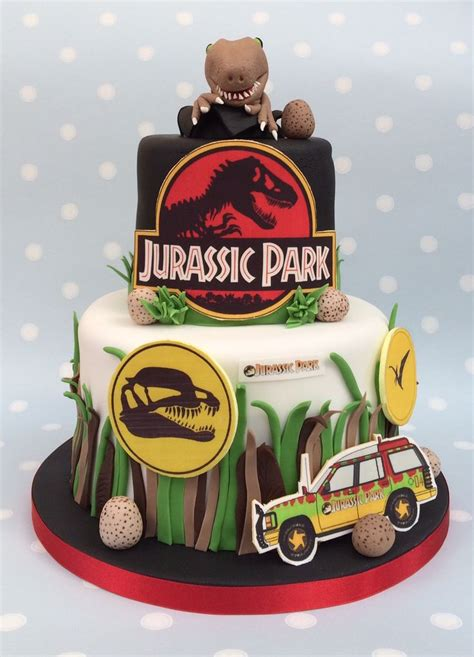 Jurassic Park Cake Decorations by Has Jurassic Park Themed Cake Www Vintagehousebakery Co