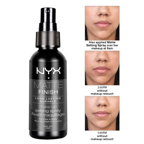 Makeup Spray nyx lasting makeup setting spray matte finish mss01 dewy finish mss02 ebay