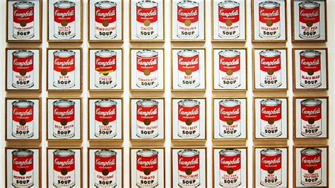 andy warhol soup cans thief makes with 7 warhol cbell s soup cans prints