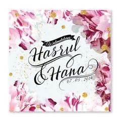 Sticker Diy C 800122061 Murah kad kahwin floral 53 kad kahwin klasik kad kahwin