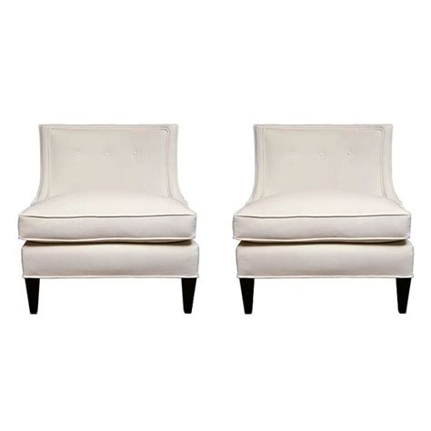 armless armchairs pair of classic armless mid century chairs armchairs