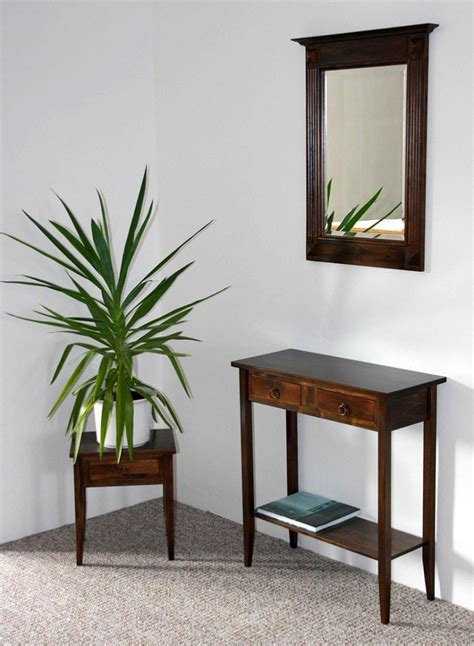 spiegel kolonialstil massivholz spiegel mit holzrahmen wandspiegel