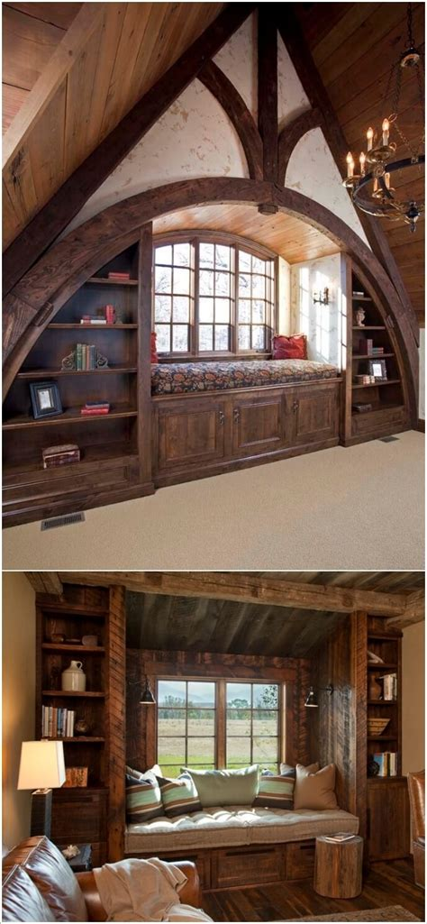 Design  Reading Nook  Rustic Style