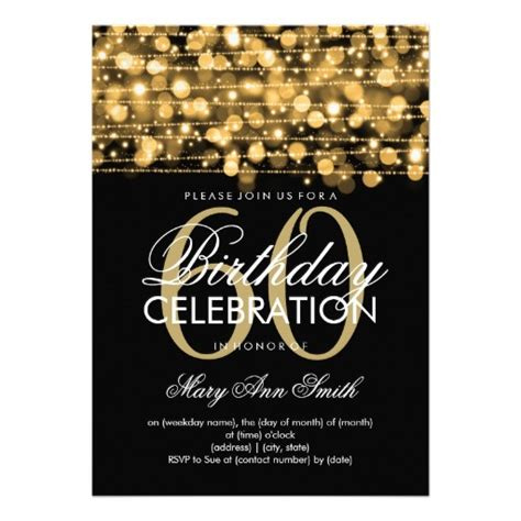 printable elegant birthday invitations free printable 60th birthday invitations drevio