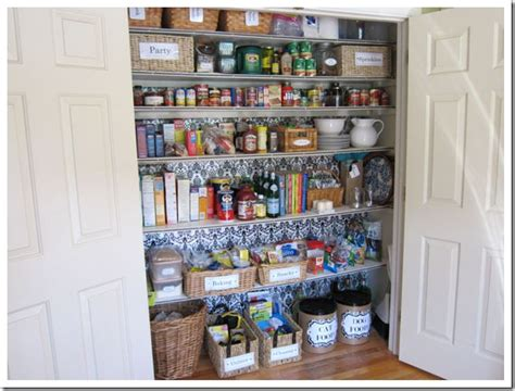 Kitchen Pantry Closet Organization Ideas How I Transformed A Coat Closet Into A Pantry In My Own Style