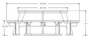 Pedestal Poker Table Free Octagon Picnic Table Plans