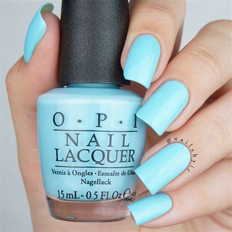 Manicure Opi opi breakfast at s swatches and review nailsbyic