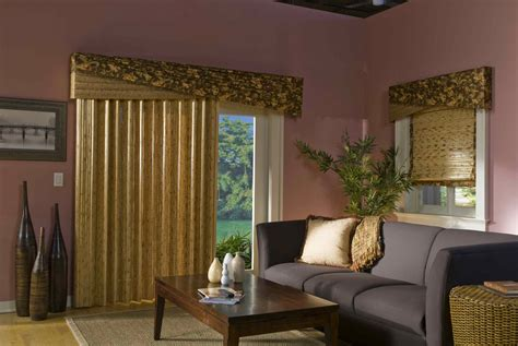 curtains for sliding glass doors ideas how to choose valances for sliding glass doors