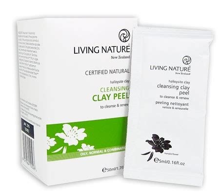 Living Clay Detox Deodorant Review by Buy Living Nature Cleansing Clay Peel 50ml At Health