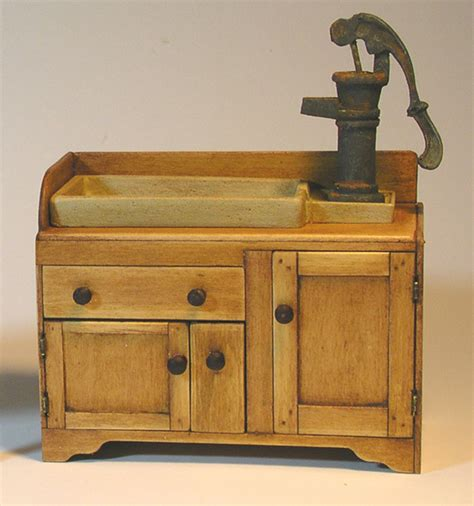 miniature country kitchen sink shaker works west