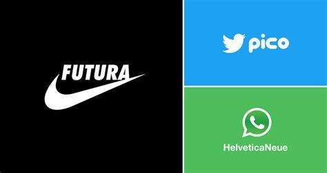 graphic designer substitutes wordmarks  famous logos