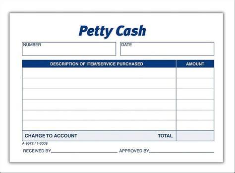 petty receipt book template petty receipt book template designs 863