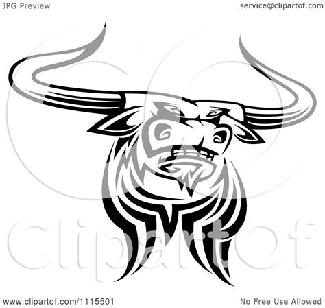 tribal longhorn tattoo pin longhorn skull tattoos pictures on