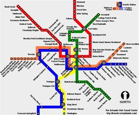 washington dc transit map pdf carte metro washington subway application