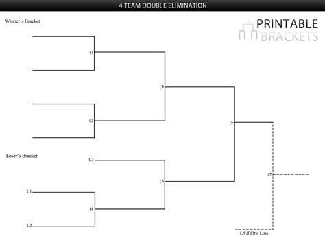 elimination tournament bracket template three team tournament bracket images