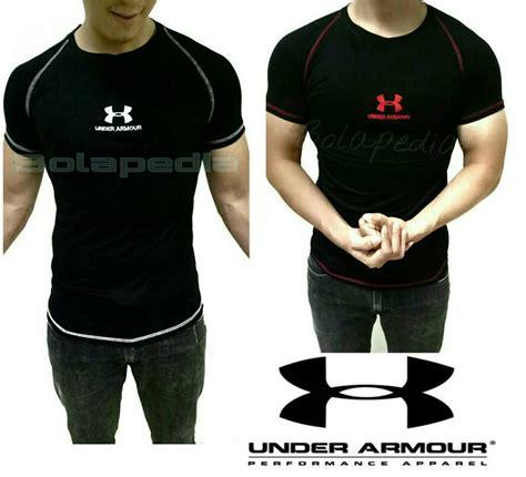 Jual Baju Fitness Pria Jual Baju Kaos Fitness Cowok Underarmour Armour