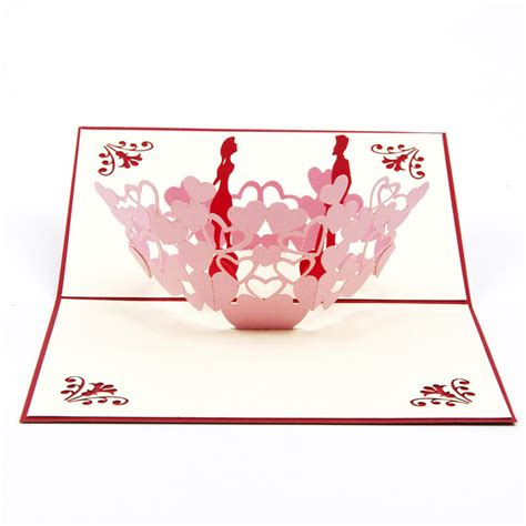 3d laser cut handmade paper invitation greeting cards postcard wedding
