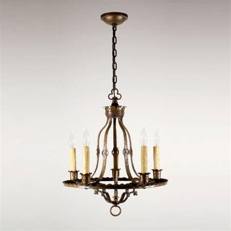 Antique Brass Chandeliers For Sale Handsome Antique Revival Five Light Cast Brass Chandelier Nc1455 Rw For Sale Antiques