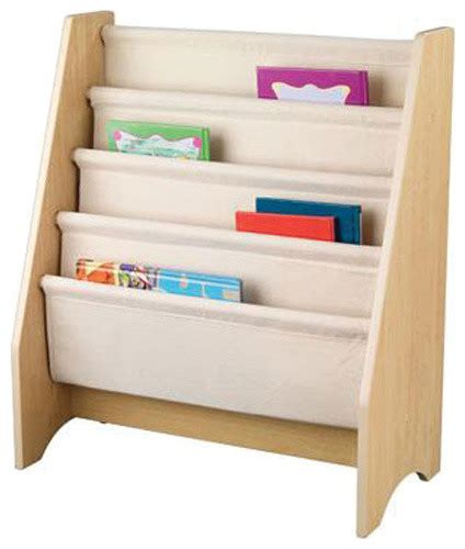 kidkraft kids sling bookshelf modern