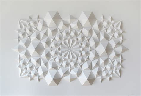 Paper Artists - new geometric paper from matthew shlian colossal