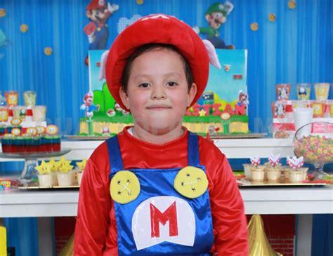 Sebastian Mario Sebasti 225 N Festej 243 Al Estilo Mario Bros