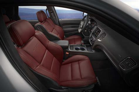 jeep durango interior dodge punches things up with durango srt