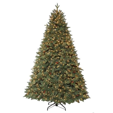lowes christmas trees prices living 7 5 ft hayden pine incadescent artificial tree lowe s canada