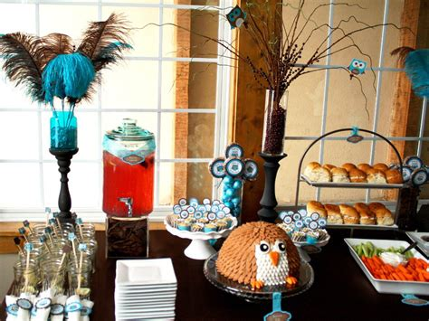 Owl Baby Shower Ideas Photo Owl Baby Shower Bird Decorations