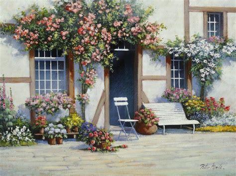 Haus Garten Versand by Artland Poster Leinwandbild 187 Haus Topf Landschaften Garten Blumen Malerei 171 Kaufen Otto