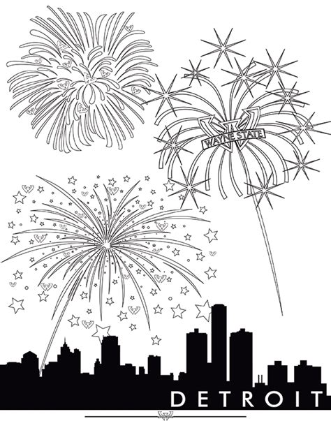 86 fireworks coloring pages bonfire night colouring