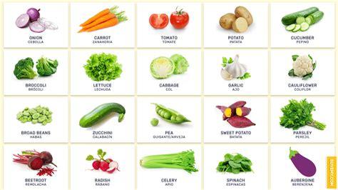 imagenes vegetales en ingles lista de todas las verduras en ingl 233 s verduras ingl 233 s