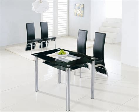 Compact Dining Table And Chairs Compact Large Glass Dining Table Dining Table And Chairs Dining Sets