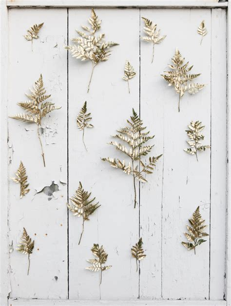 DIY Golden Sprig Wedding Backdrop   Rustic Wedding Chic