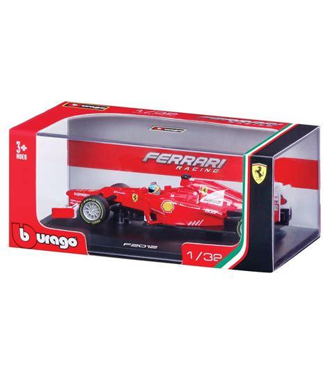 Diecast Bburago 132 F2012 Fernando Alonso burago 1 32 racing f2012 s fernando alonso buy