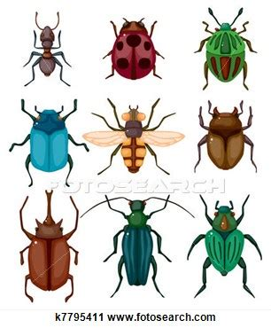 Bugging People Insects Clipart Insect Drawings Clip Art