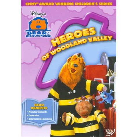 bear inthe big blue house dvd bear in the big blue house heroes of dvd target