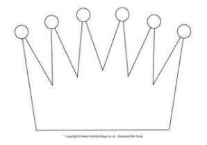 crown craft template crown collage craft for