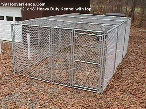Kennel Sections by Kennel Replacement Parts Hoover Fence
