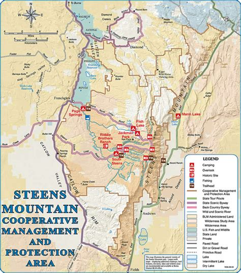 mountains oregon map steens mountain map in burns oregon flickr photo