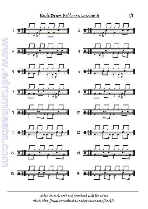 free drum pattern downloads 442 best images about drummers on pinterest vinnie paul