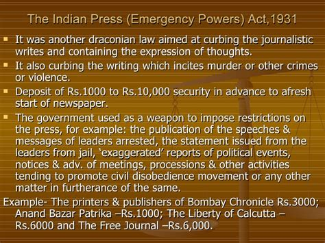 press indian history of press laws in india